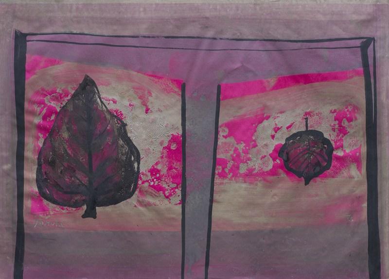 055 k.t akvarel a ředěná tempera 1973 456x605 v rámu 900 €