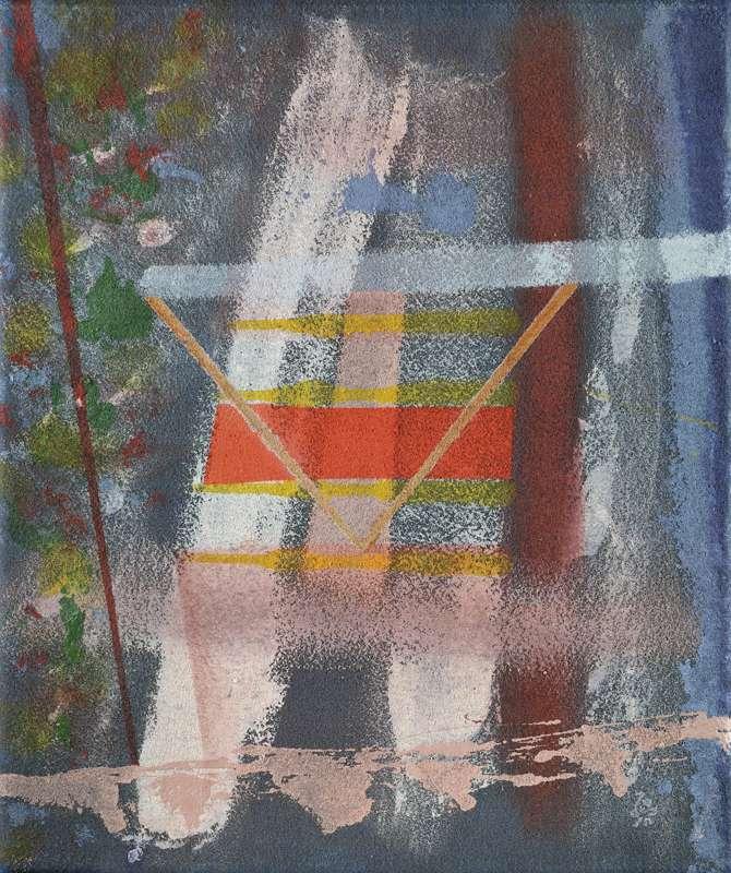 104 k.t. akryl na moketě 2006 55x65 1800 €