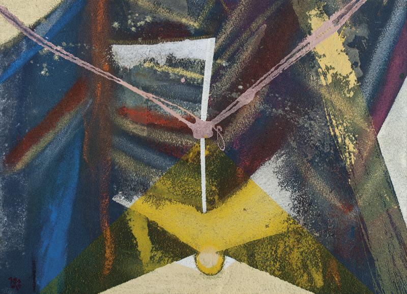 105 k.t. akryl na moketě 2006 555x77 v rámu 2000 €