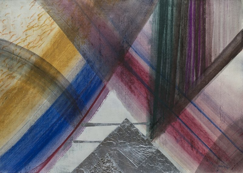 124 k.t. pastel olej kov. fólie1979 104x75 4000 €