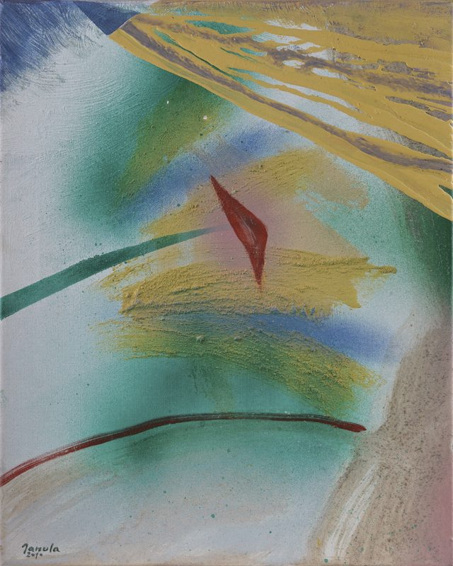 166 k.t. akryl na plátně 2010 495x40 1400 €