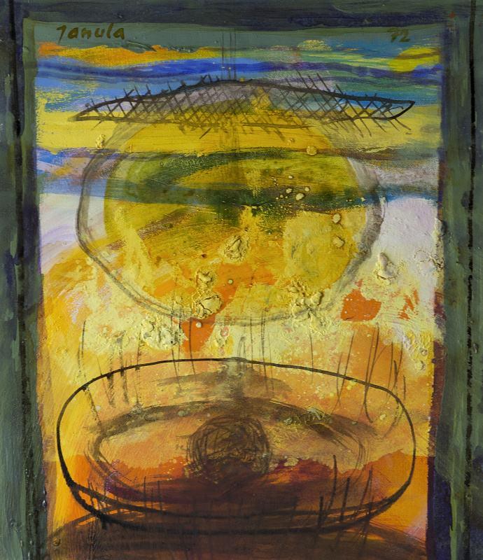 175 k.t. olej na plátně 1972 49x43 2000 €