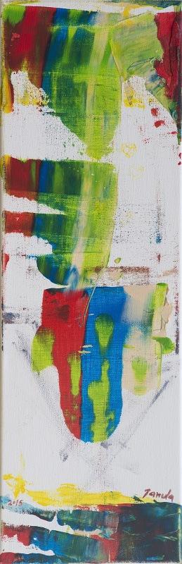 216 akryl na plátně 2015 60x20 800 €